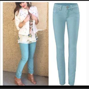 CAbi Tidal Blue Fit Skinny Jeans Denim